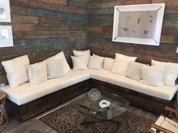 Custom Cushions For A Built In By Paddy Collins For Home Free Show On FOX